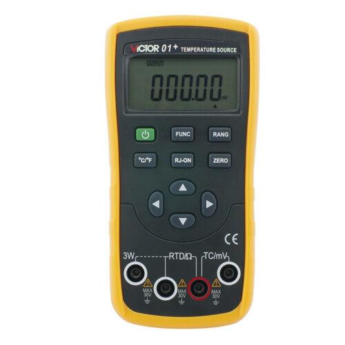 Thermocouple RTD Temperature Calibrator Simulator RSKEJTBN Pt100-1000 Cu10 Cu50