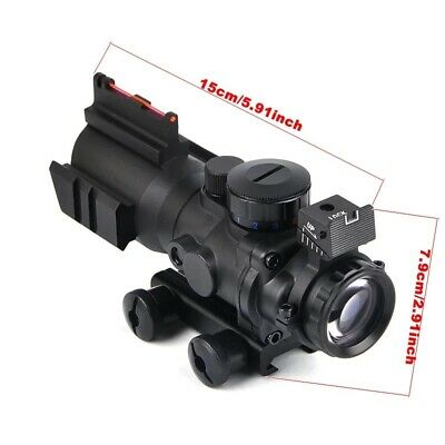4x32 Acog Style Scope Red Dot Blue Dot Green Dot