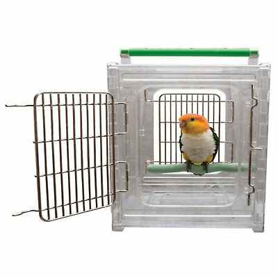 "Caitec Perch N Go Polycarbonate Bird Carrier, 12"" L X 10"" W X 15"" H"