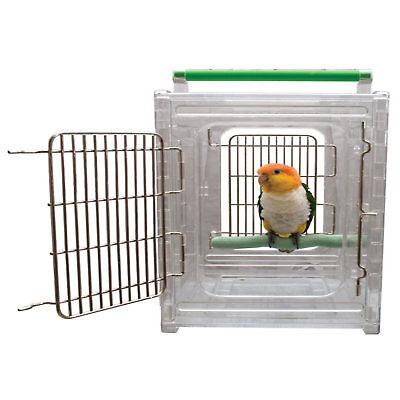 "Caitec Perch N Go Polycarbonate Bird Carrier, 12"" L X 10"" W X 15"" H"