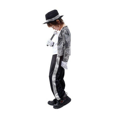 Halloween Costume Superstar Michael Jackson Suits Cosplay Costume For Kids - Michael Jackson Halloween Costume Kids