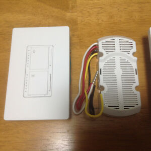 Lutron Single Pole Lighting & Fan Control switch and Module St. John's Newfoundland image 2