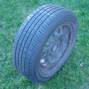 Set of 4 Mazda3 all-season tires on rims