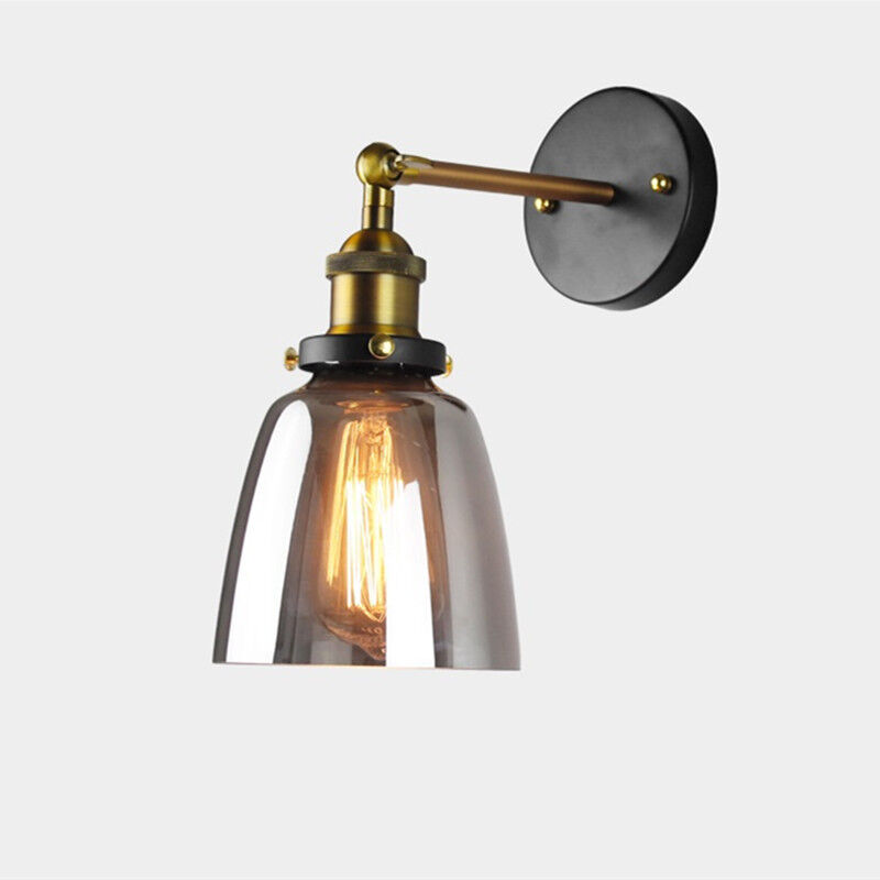 Details About Swing Arm Wall Light Kitchen Wall Lamp Indoor Wall Sconce Glass Wall Lighting
