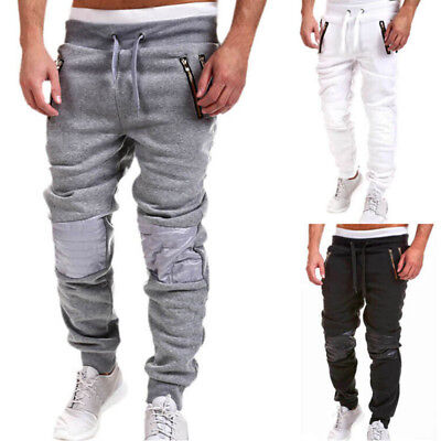 Usa Mens Plain Jogger Sportwear Baggy Casual Harem Pants Trousers Sweatpants Yy