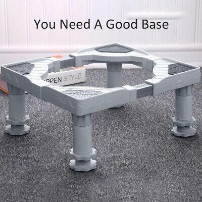 Ajustable Desplazable Base Colada Soporte Pedestal Soporte for 60cm Lavadora