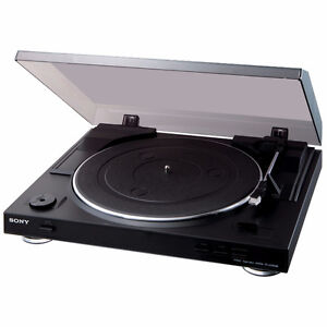 Table Tournante 33 et 1/3 et 45 RPM USB PS-LX300USB Sony
