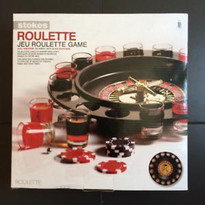 Jeu à boire • Roulette • Casino • NEUF