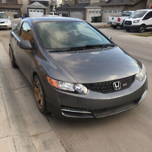 2009 Civic Si Coupe 2 Door 2DR Manual 6 Speed i-VTEC DOHC