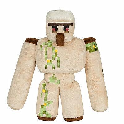 Animal Minecraft Plushies Iron Golem Stuffed Plush Toys Animals Soft Toy UK