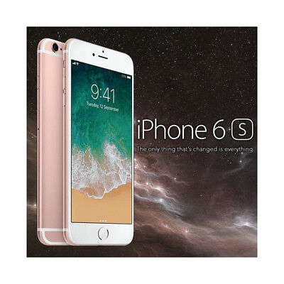 smartphone apple iphone 6s 64gb rose gold  nuovo-