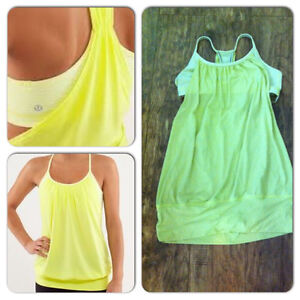 Excellent condition. Lululemon tank top with built in bra