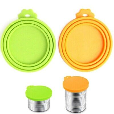 US Stock Silicone Canned Lid Pet Food Canned Lid Seal Fresh Cover for Pet Food