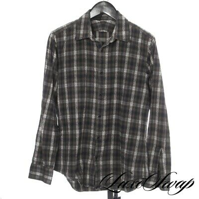 Mister Hollywood Made in Japan N. Hoolywood Gradient Check Flannel Shirt 40 NR