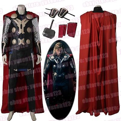 The Avengers Thor Loki Cosplay Costume Halloween Comic Con Fancy Dress ](Loki Halloween Costumes)