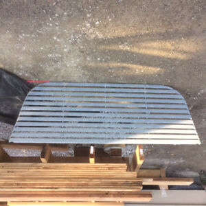 Corrugated Steel Window Well Covers
