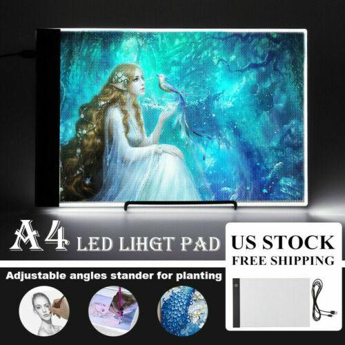A4 15inch Led Light Box Adjustable Brightness Diamond Painting Board Dracing Pad