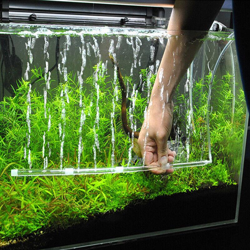 US Aquarium Air Stone Bubble Tube Oxygen Aeration Pump Fish