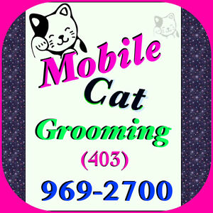 * * MOBILE CAT GROOMING * * (403) 969-2700 * *SAME DAY * *