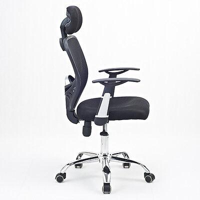 Drehstuhl Schreibtischstuhl Bürosessel Computerstuhl  Stuhl D07 schwarz