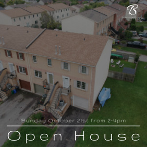 OPEN HOUSE: Beautiful Freehold Townhouse