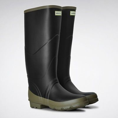 Hunter Argyll Bullseye Field Wellington Boots II - Unisex Black