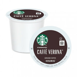 Starbucks Verona K Cup Coffee - Keurig. Box of 96.