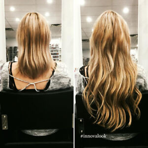Pose d'extensions capillaires – Hair extension installation