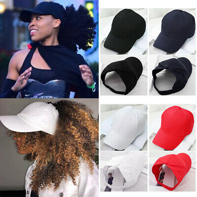 Backless Ponytail Hat for Curly Natural Hair Baseball Cap for Hair Dreadlocks - Hat For Dreadlocks