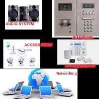 Networking, Access Control, Intercom, Alarm Systems, Telephone