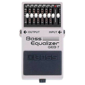 WANTED Bass EQ Pedal