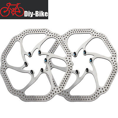 2pcs Bicycle Brake Disc Rotors Steel Bike Brake Rotors 180mm For Shimano Sarm