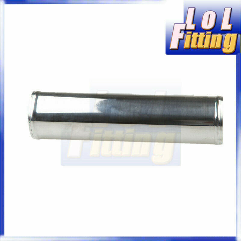 """New Mirror Polished Aluminum 2.75/"""" Inch OD Straight Turbo Intercooler Pipe Tube"""