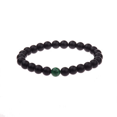 8mm Natural Stone Malachite Beads Energy Reiki Charm Bracelets Valentines Gifts