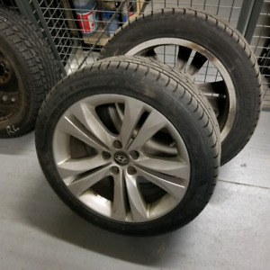 Hankook Winter tires 245/45/18
