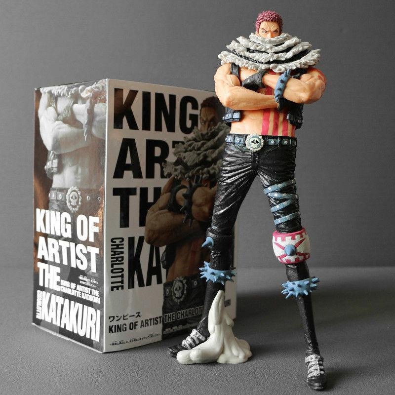 Anime ONE PIECE King of Artist KOA Charlotte Katakuri PVC Figure New No Box 24cm