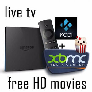 AMAZON FIRE TV STICK JAILBROKEN WITH XBMC KODI 16.1 BRAND NEW