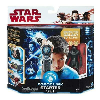 NEW OFFICIAL STAR WARS FORCE LINK STARTER SET & KYLO REN FIGURE SET