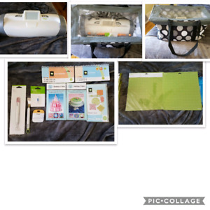 Cricut expressions 2 with lots of supplies