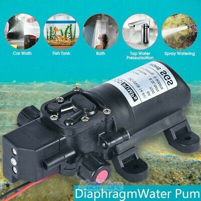 Dc 12v 70w Food Grade Self-priming Diaphragm Water Pump With Switch Diaphragm Us