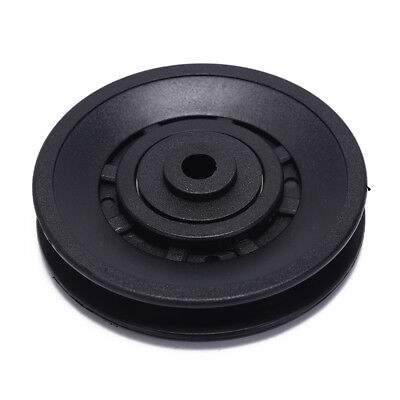- 1pc 90mm Black Bearing Pulley Wheel Cable Gym Equipment Part Wearproof gym kitLE