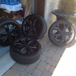 Tires and Mags for Mazda 3