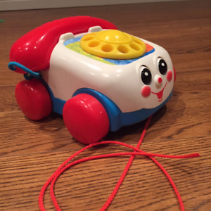 FISHER PRICE BABY & TODDLER CHATTER TELEPHONE