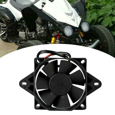 Motorcycles Electric Engine Cooling Fan Radiator Replacement Cooling Fan Black