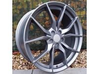 """18"""" New Model Focus RS Style Alloys on Tyres"""