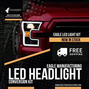 LED Headlight & Fog Light Upgrade Conversion Kits FREE SHIPPING!