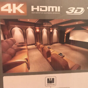 "LED Projector, 72"" Screen & Bluetooth Home Theater System"