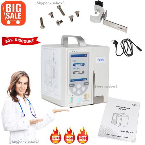 Volumetric Infusion Pump IV Fluid Syringe Equipment Alarm Calibration USB,SP750