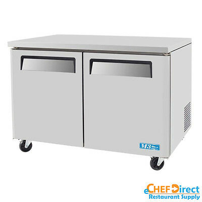 Turbo Air Muf-48-n 48 Double Door Undercounter Freezer