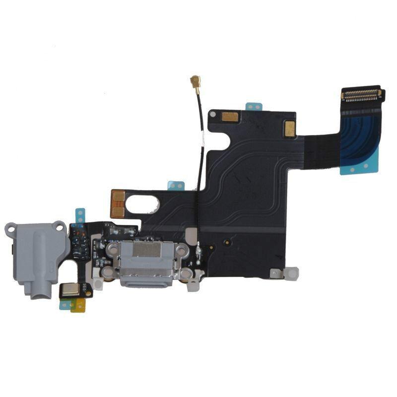 Lot Of 10 Usb Charging Port Dock Audio Flex Cable Black F...